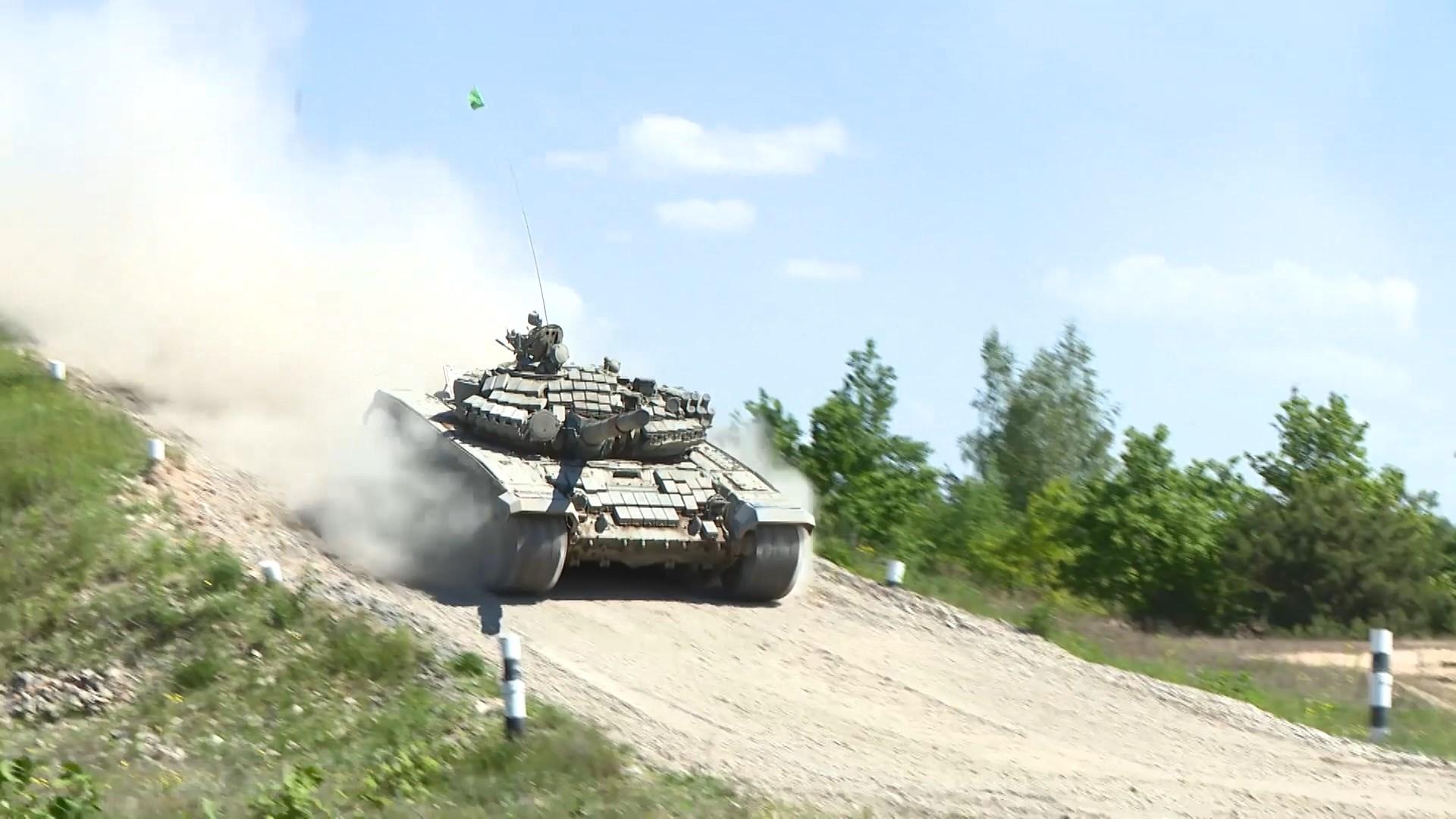 В белорусской армии продолжается подготовка к Армейским международным играм