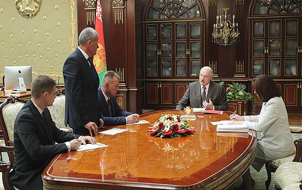 Александр Лукашенко принял ряд кадровых решений.