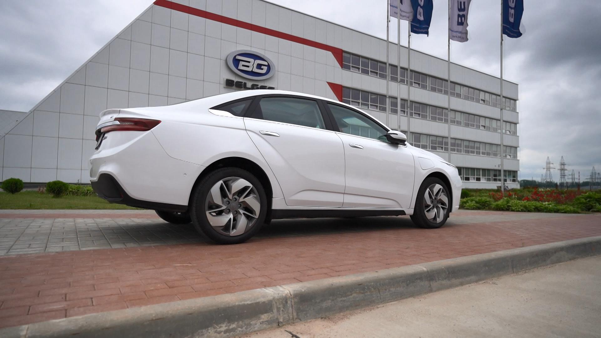 Электромобили «Джили» начнут продавать в Беларуси в следующем году.